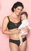 Podprsenka na kojenie s penovou výstužou Anita 5034 Polka Dot